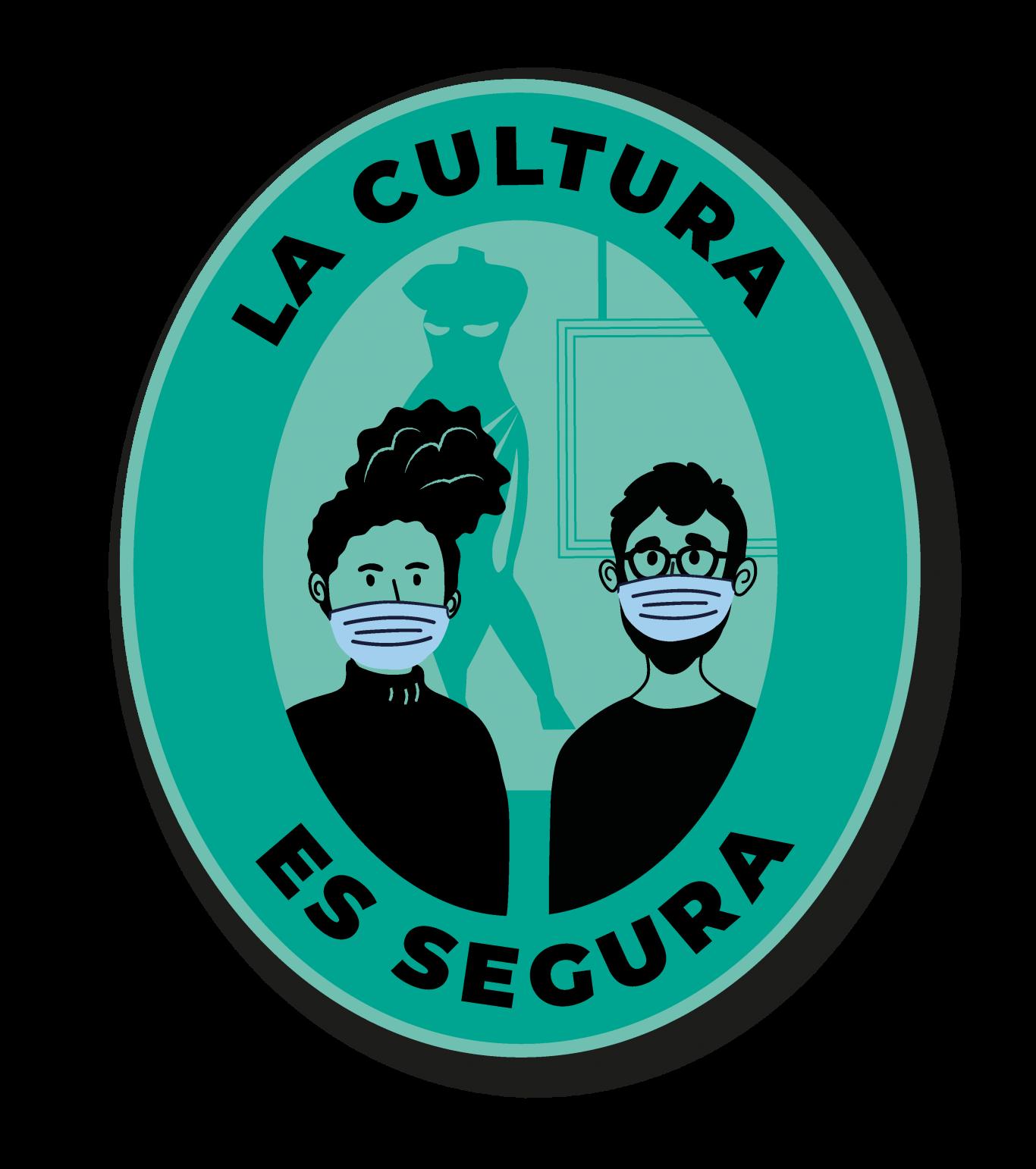 Logo de la cultura es segura