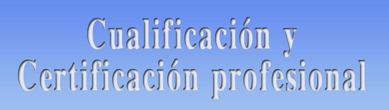 Banner recopilación normativa Cualificación y cert. profesional