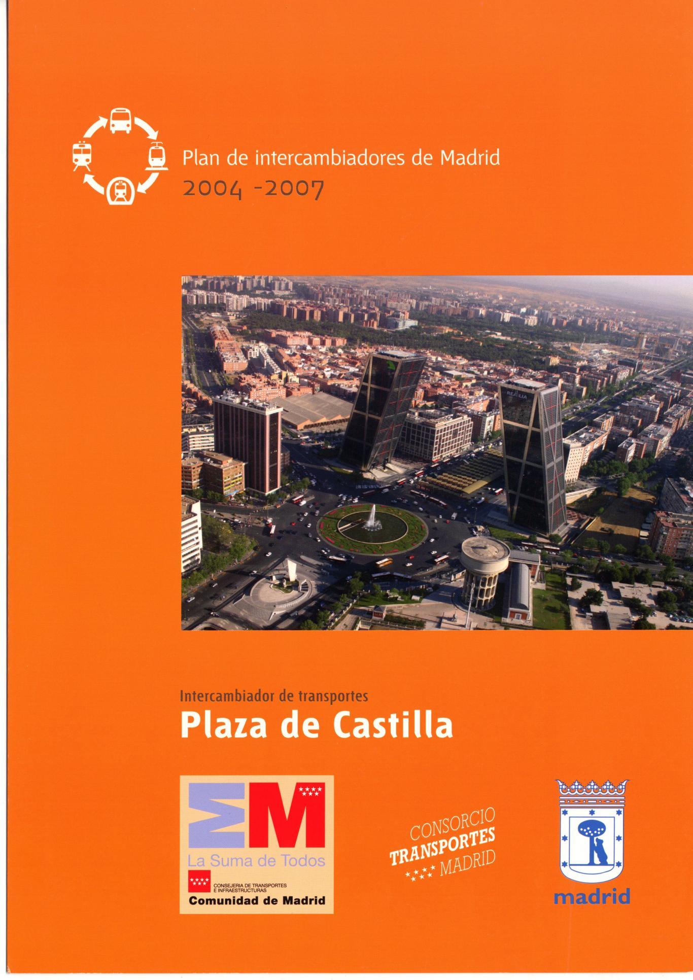 Portada intercambiador Plaza de Castilla
