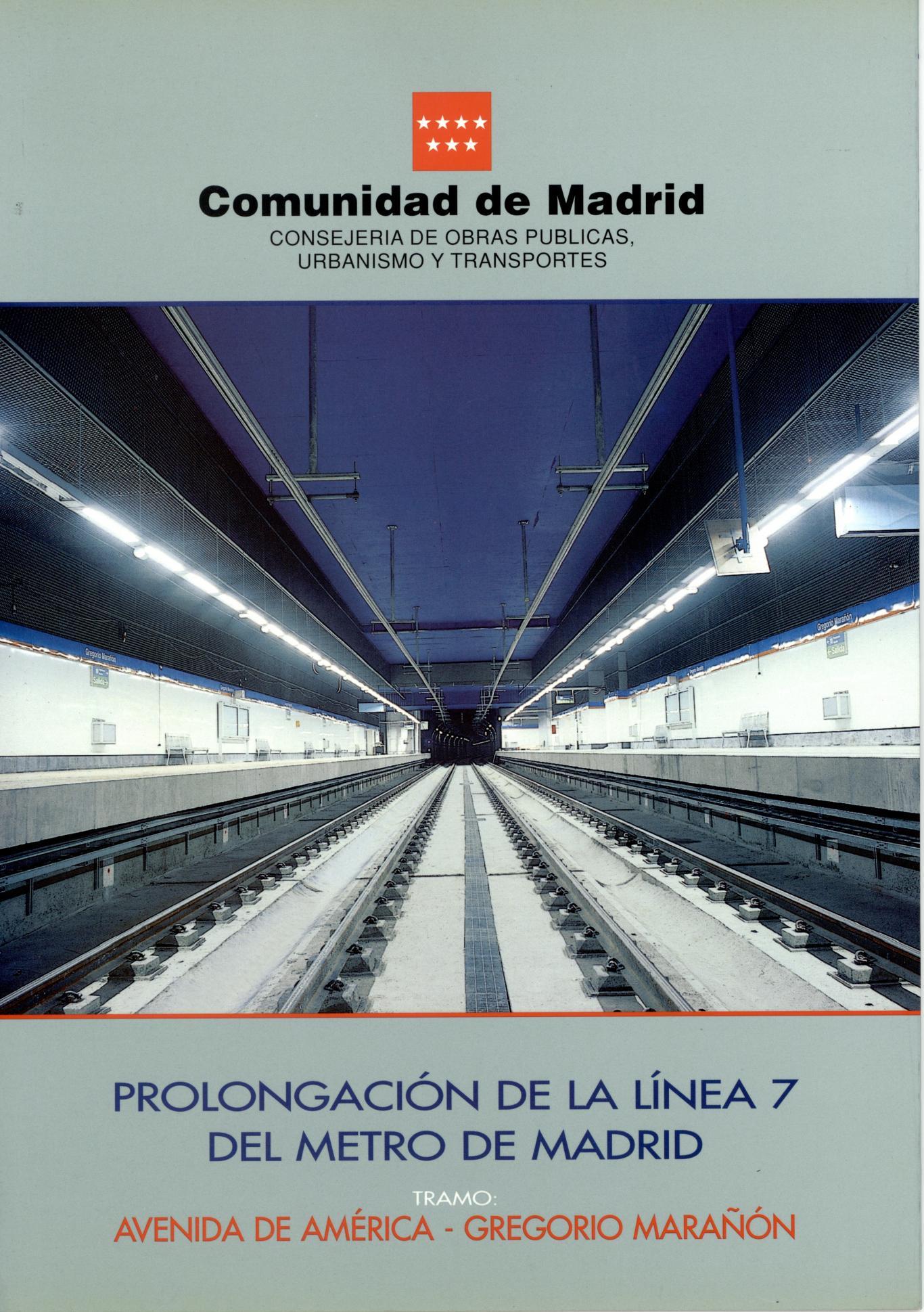 Carátula folleto L7 Avda. América-Gregorio Marañón