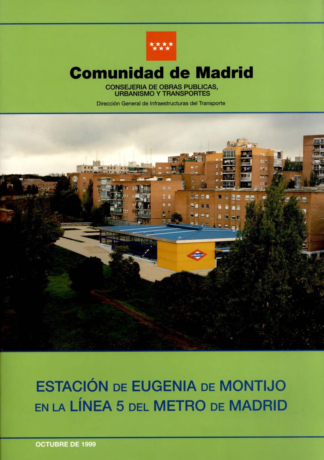 Carátula folleto estación Eugenia de Montijo