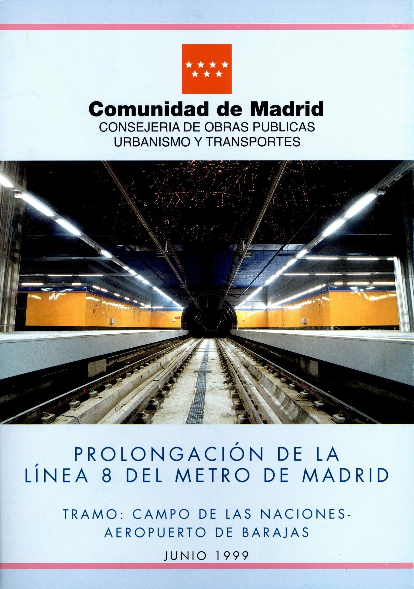 Carátula folleto L8 Campo de las Naciones-Aeropuerto de Barjas
