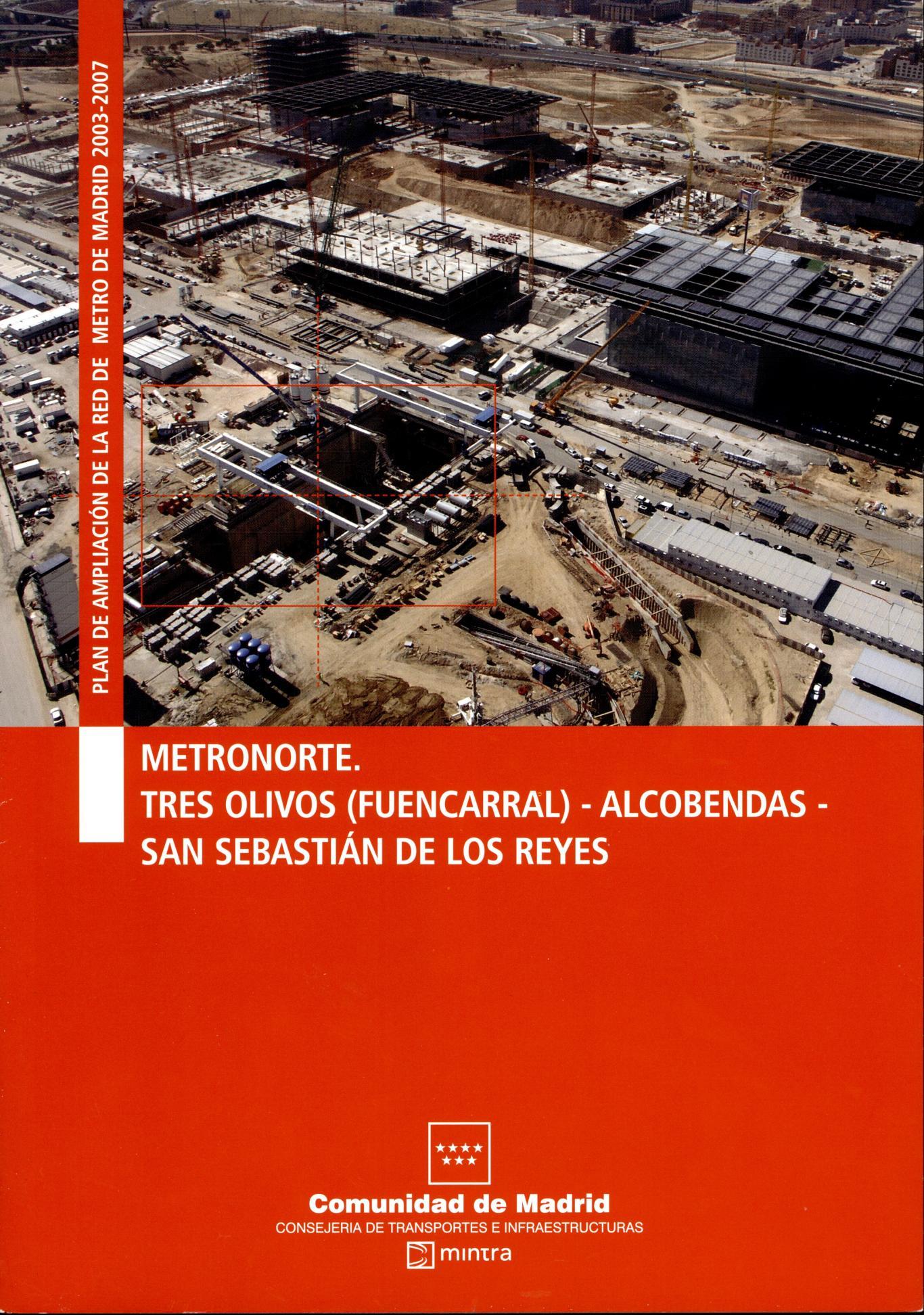 Carátula folleto Metronorte