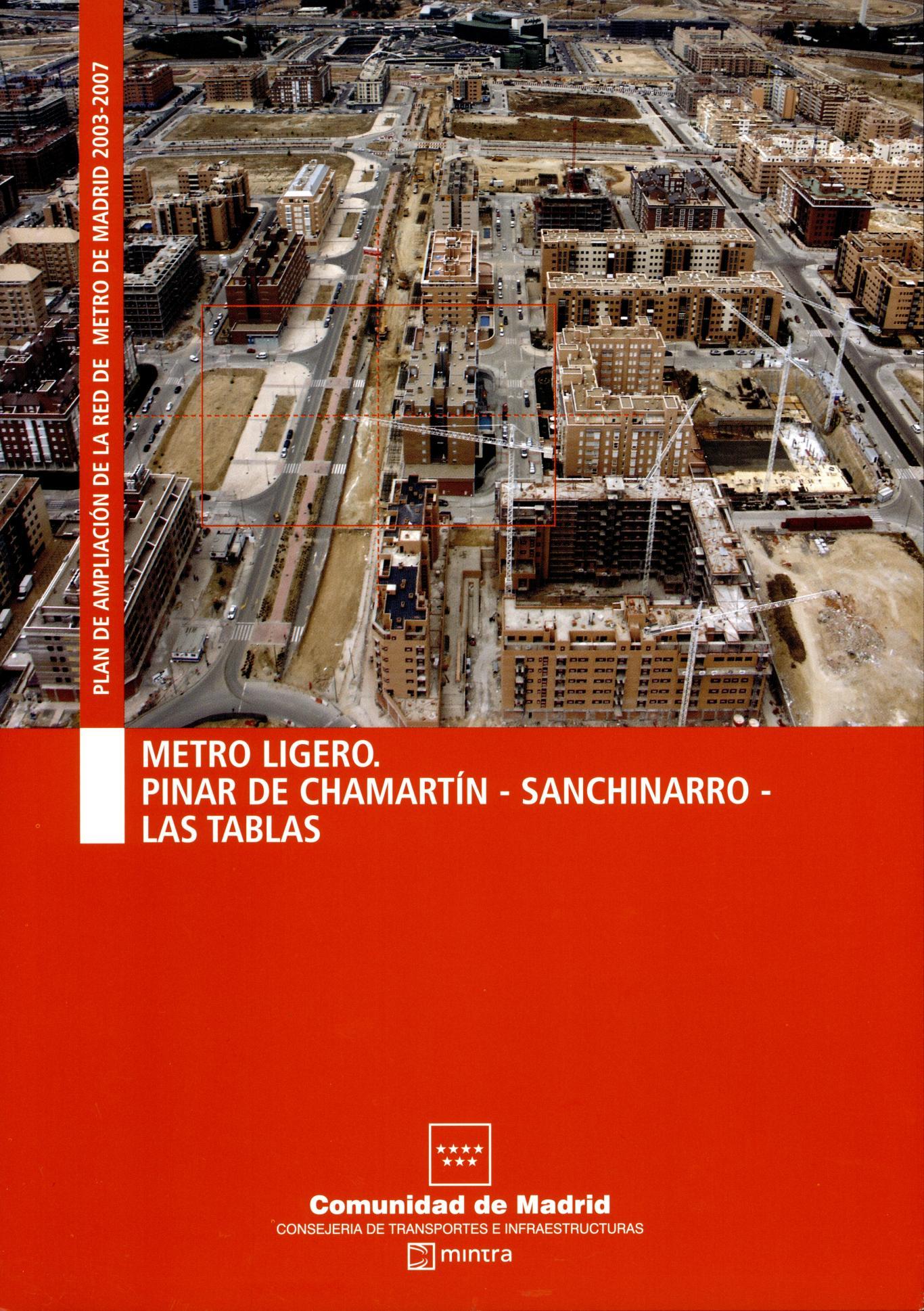 Carátula ML Chamartín-Sanchinarro-Las Tablas