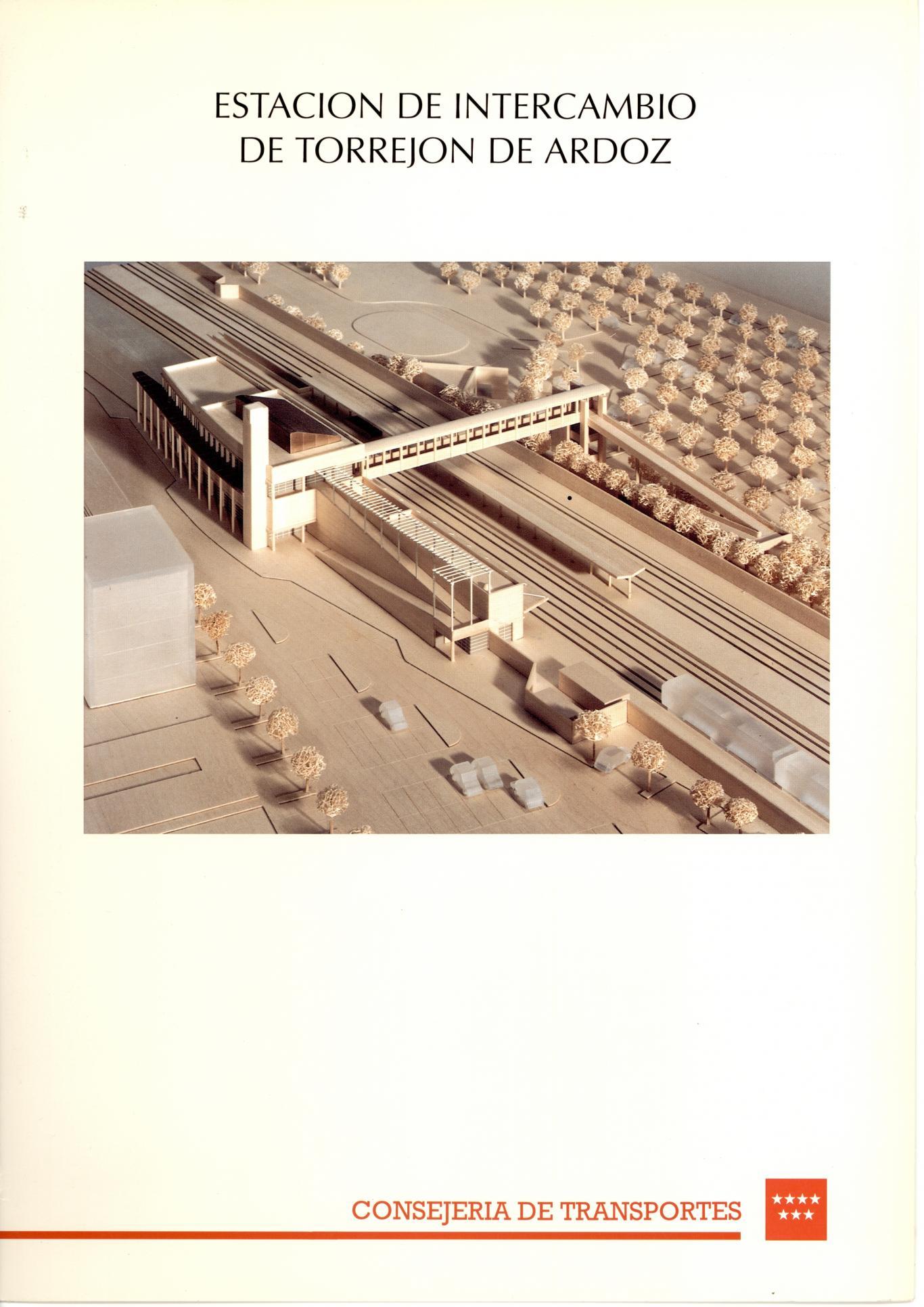 caratula folleto estacion intercambio Torrejon Ardoz