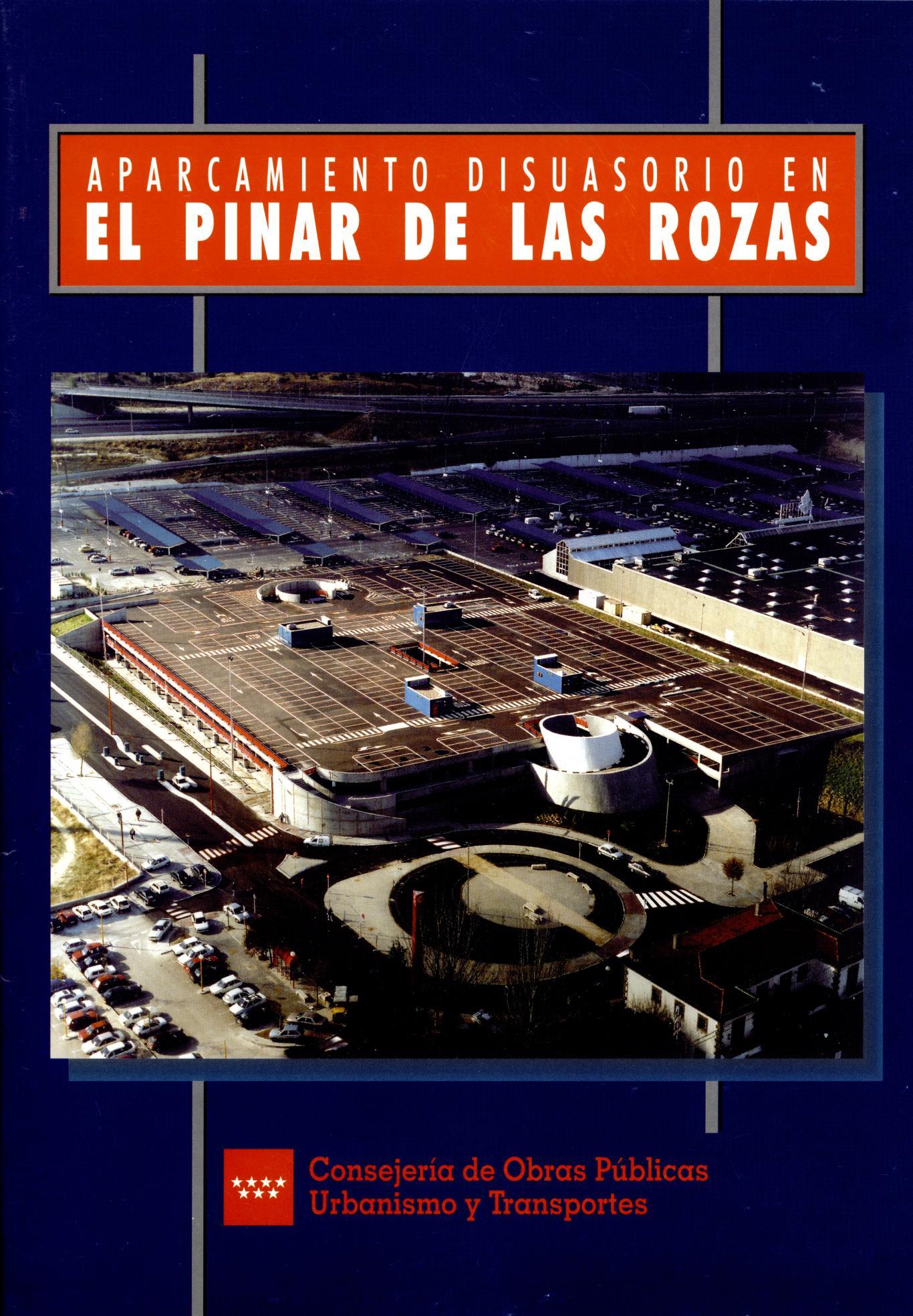 caratula folleto aparcamiento Pinar Rozas