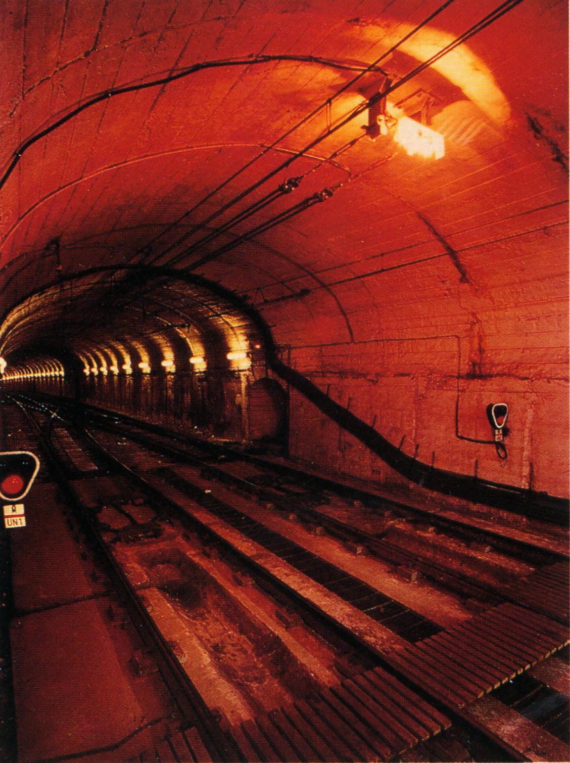 Alumbrado túneles antiguos