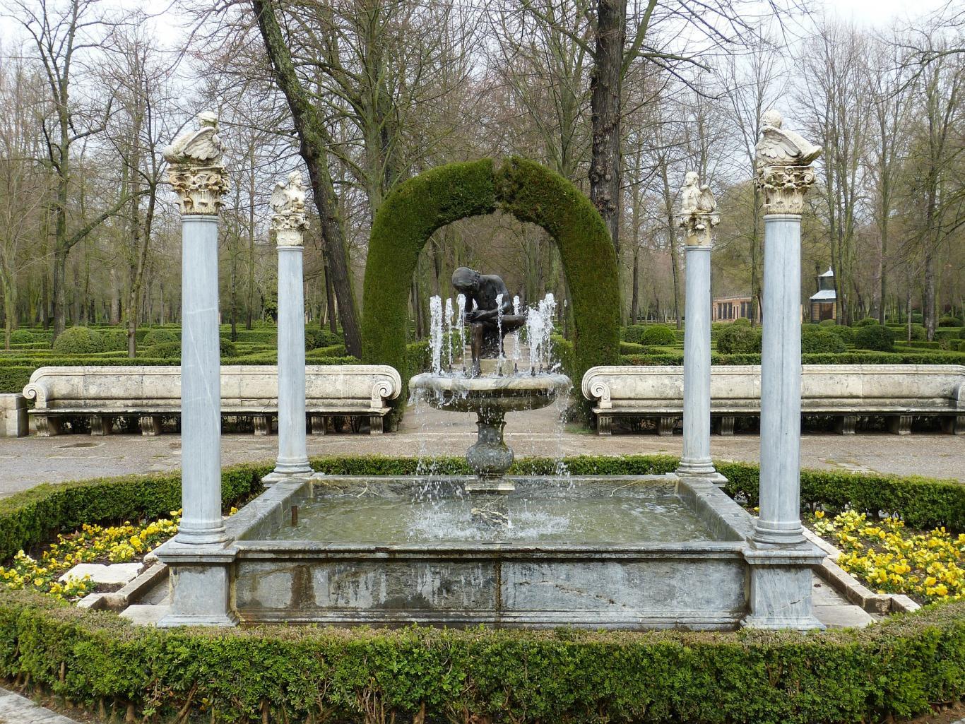 Aranjuez.Jardines palacio real