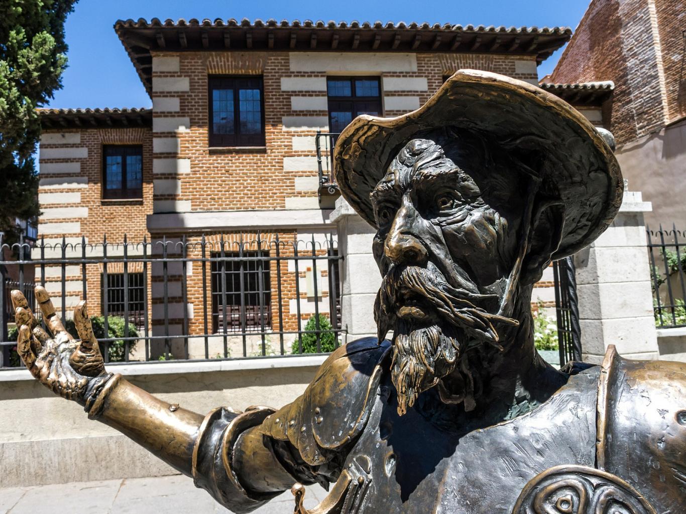 Don Quijote.Alcalá