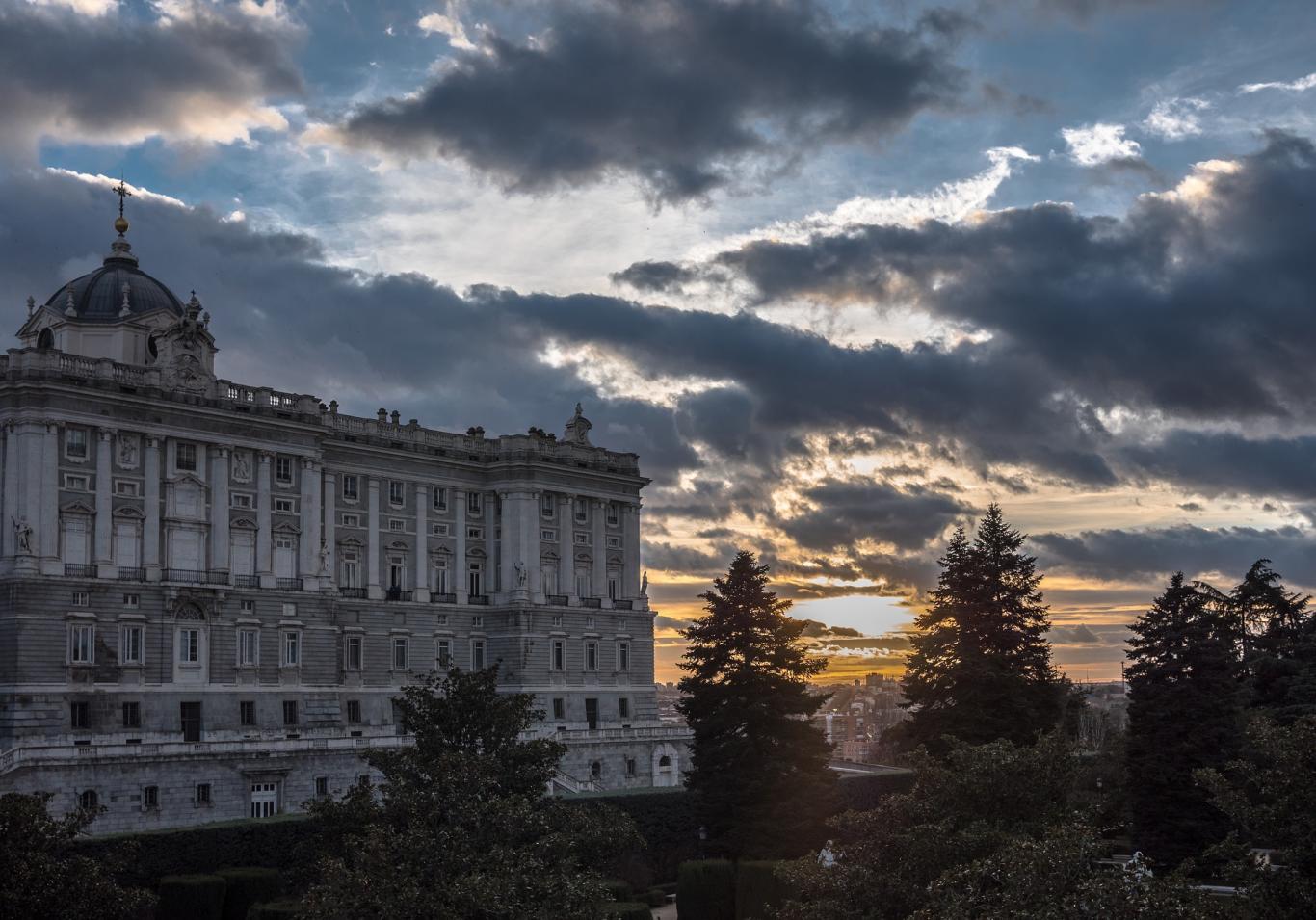 Madrid.Palacio real