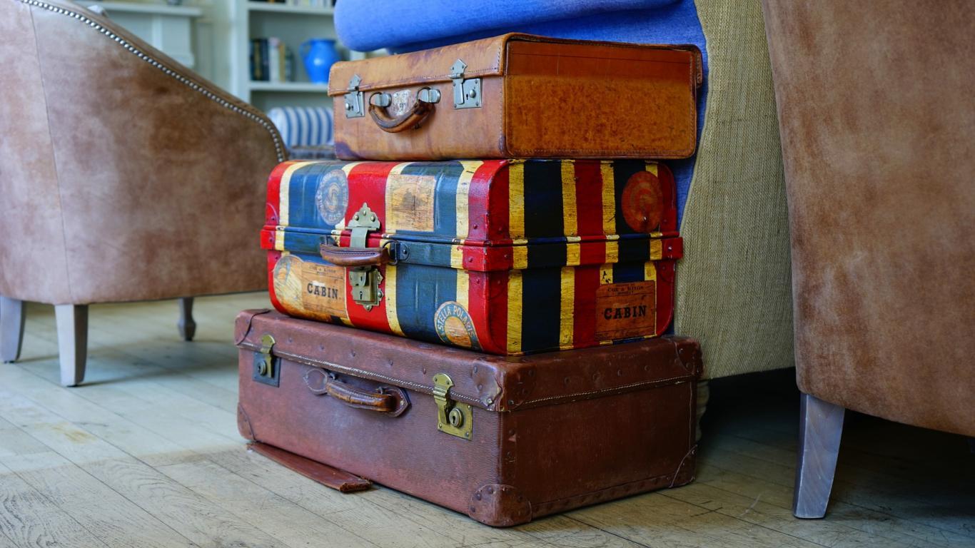 Maletas para el viaje