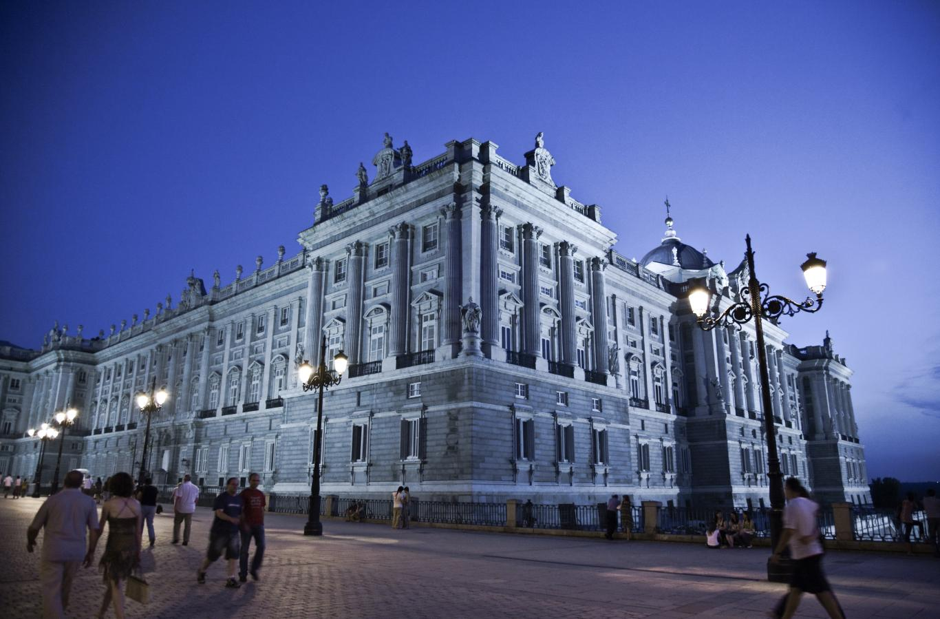 Anochecer en Palacio