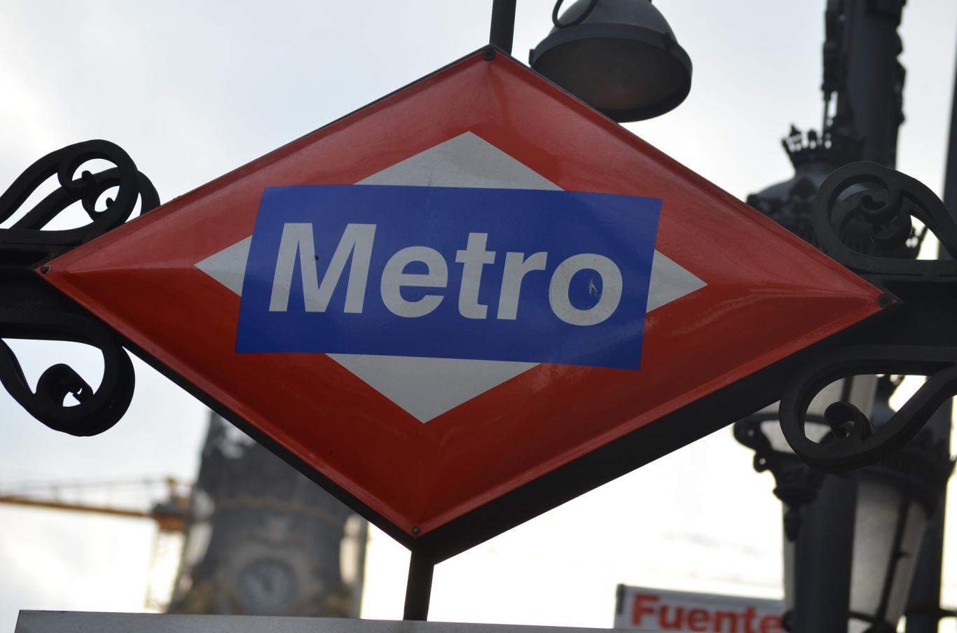 Placa del Metro