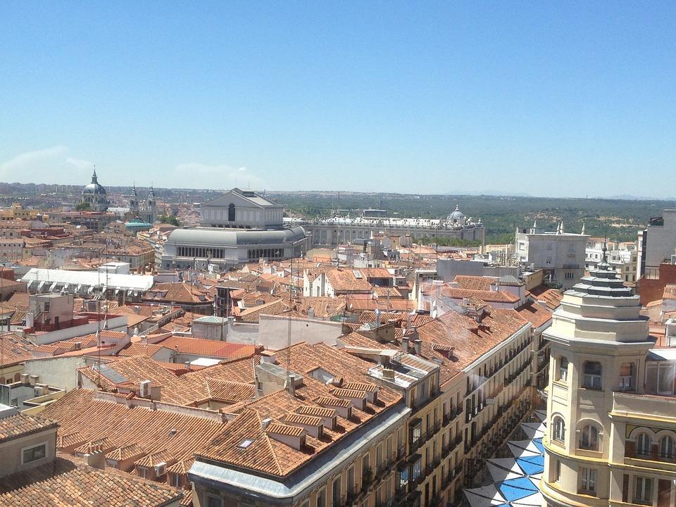Los tejados de Madrid