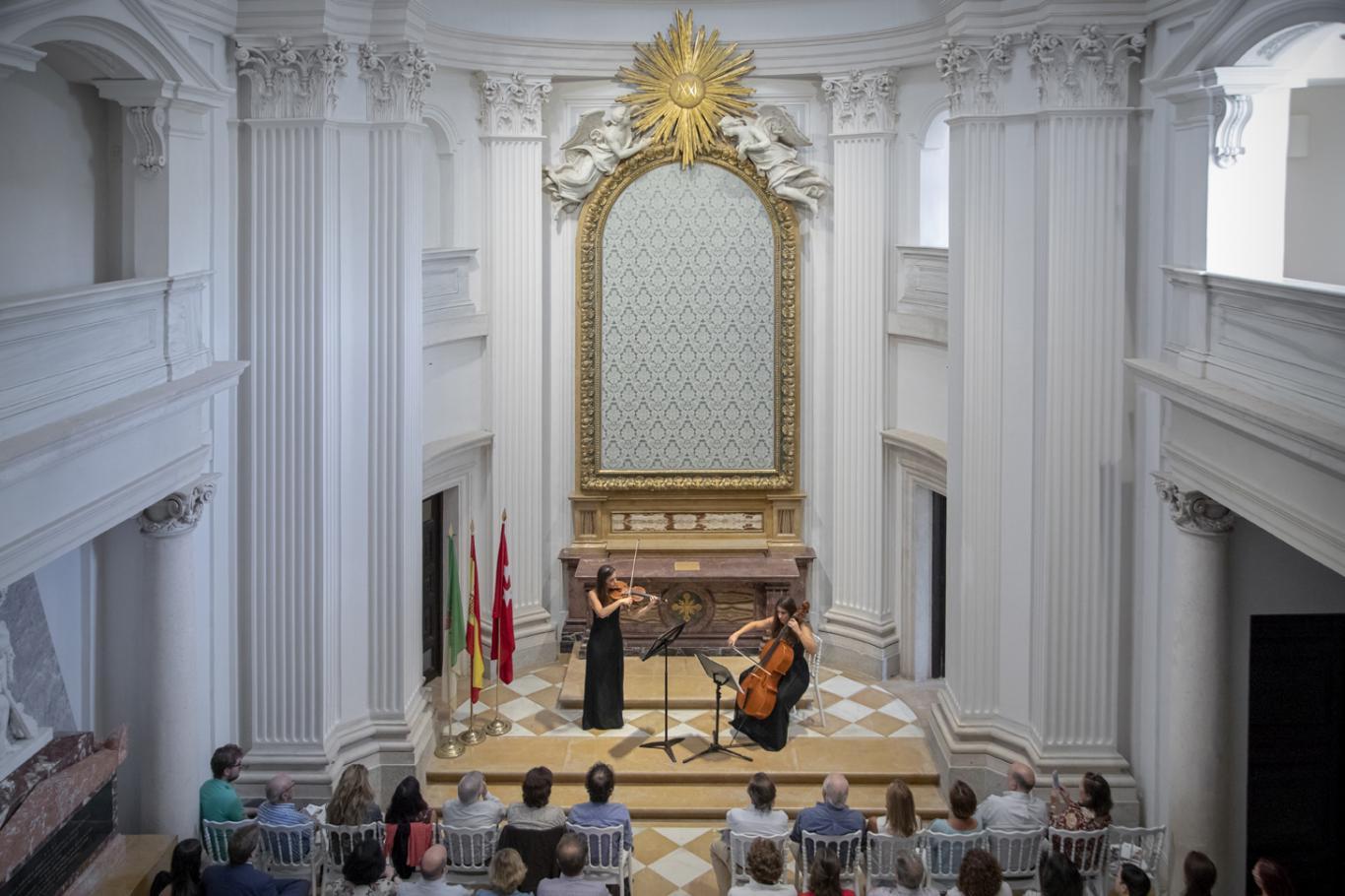 Imagen del Concierto en el Palacio de Boadilla en 2019