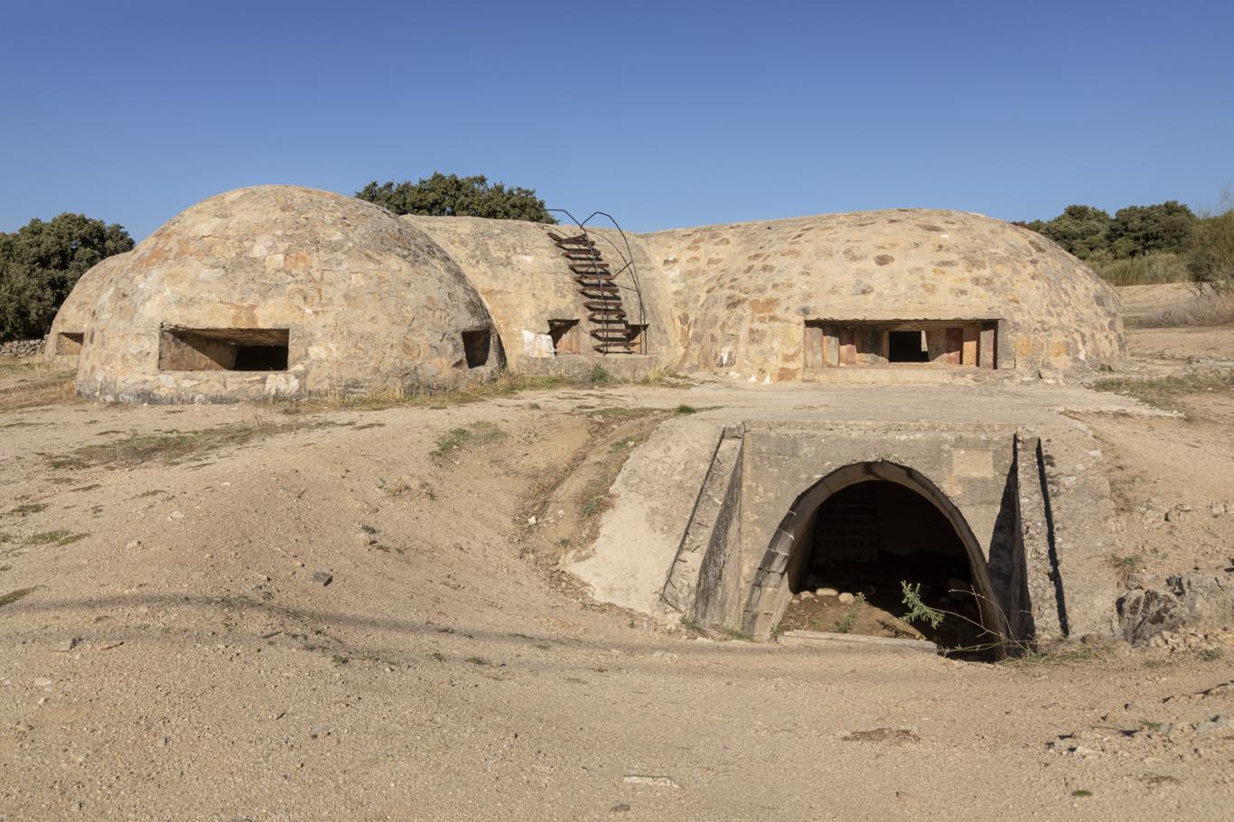 Imagen del Bunker Guerra Civil Blockhouse 13 en Colmenar de Arroyo