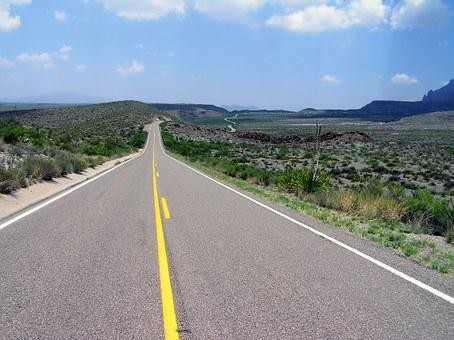 Carretera de dos direcciones