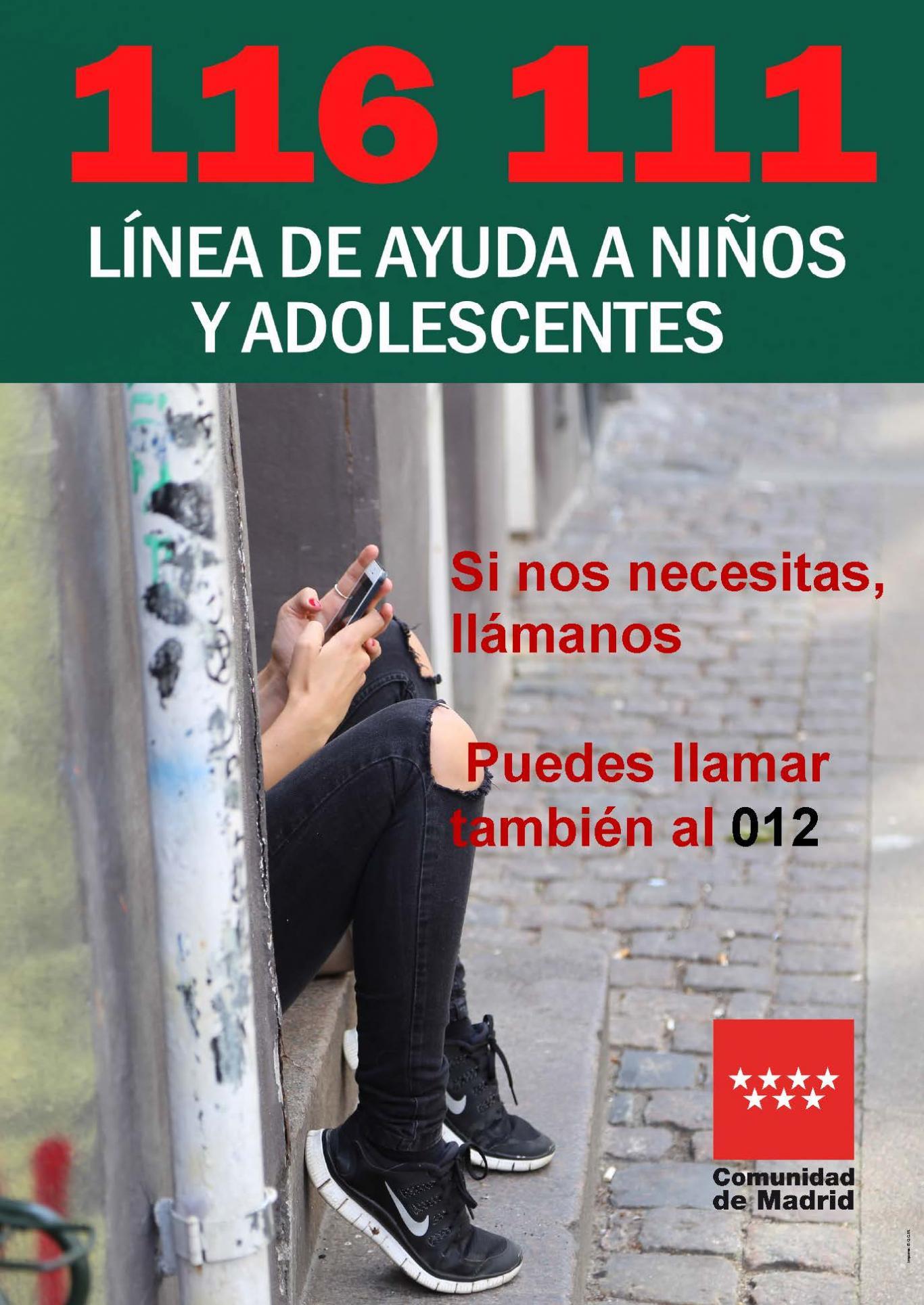 Línea Telefónica de Ayuda a la Infancia 012