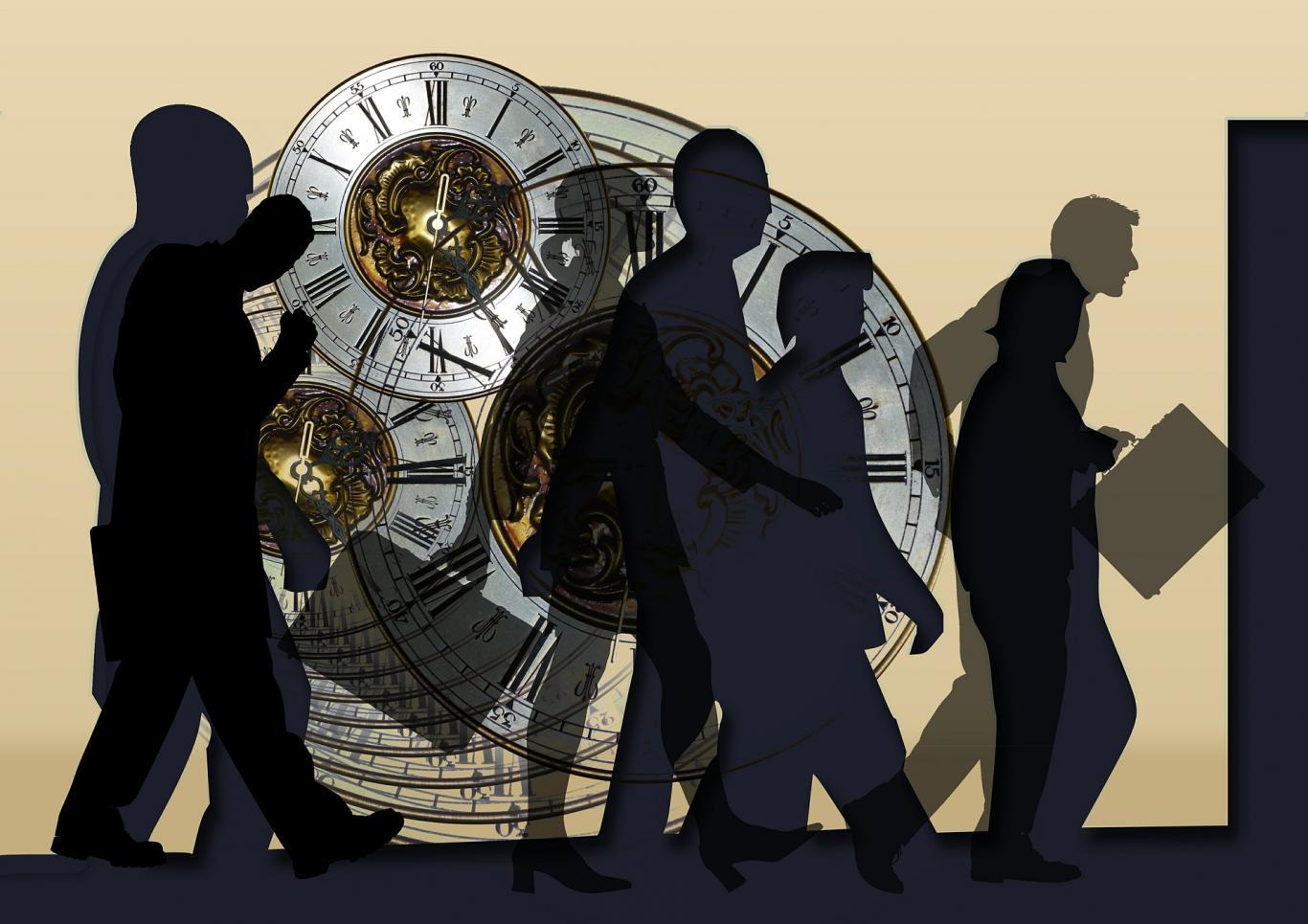 Hombres y relojes