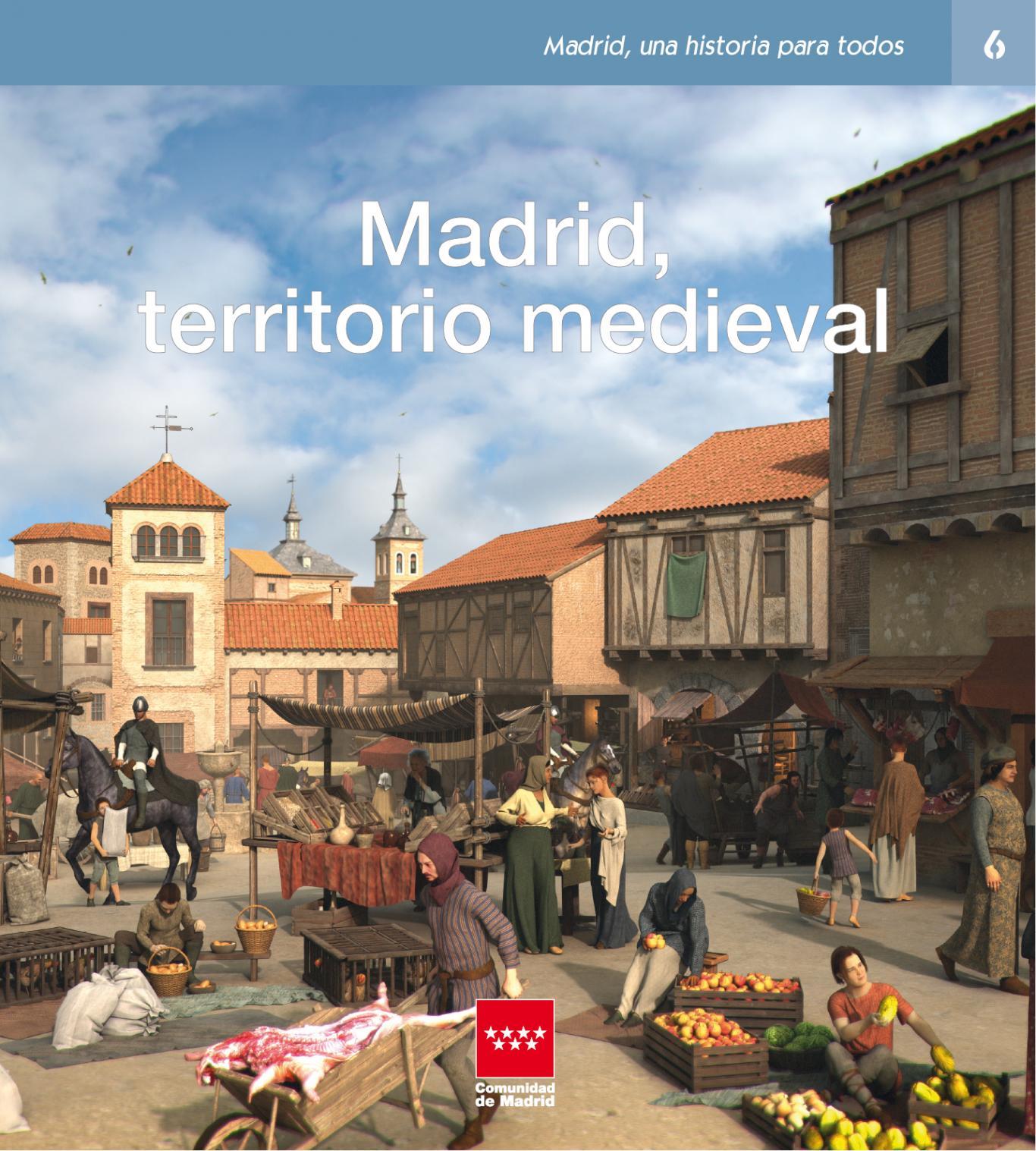 Imagen del libro Madrid territorio medieval