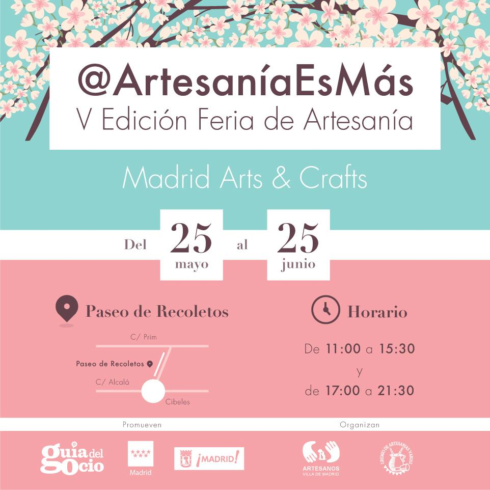 Cartel de la Feria Artesanía es Más