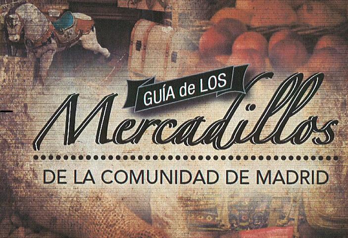 portada guía mercadillos de la Comunidad de Madrid