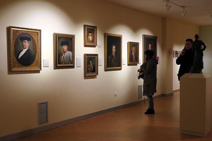 Colección de retratos del Museo Taurino