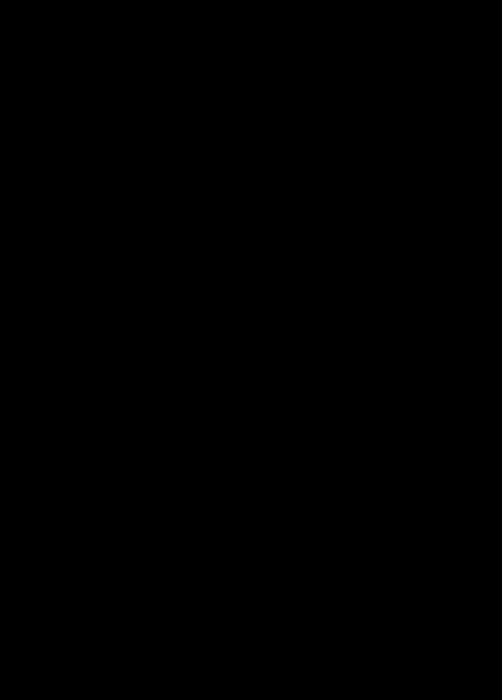 Dibujo de una maestra frente a una pizarra