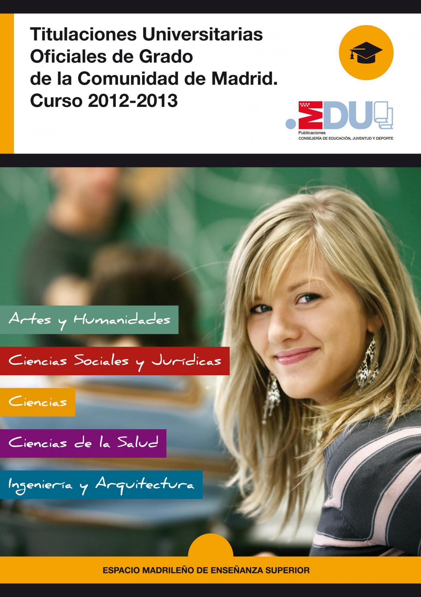 Titulaciones Universitarias de Grado 12-13