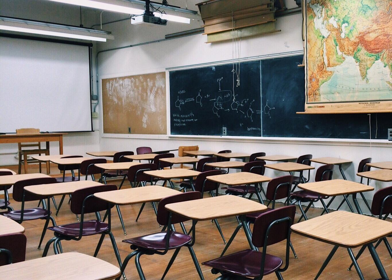 Aula de un centro docente