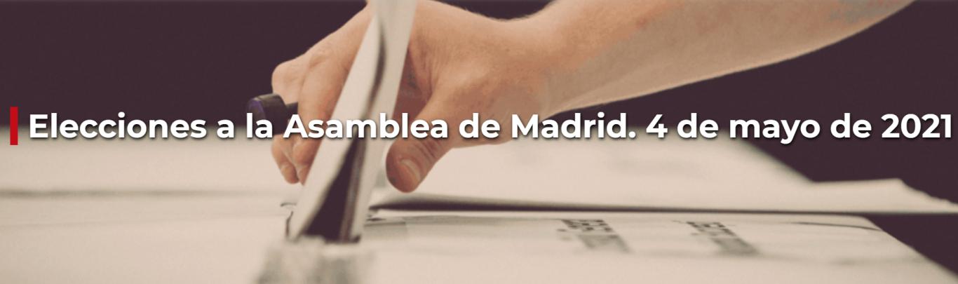 Cabecera portal electoral 4M