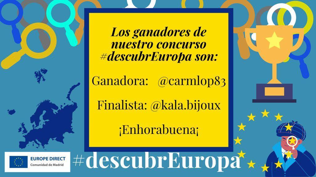 Ganadores concurso descubrEuropa