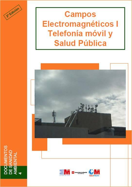 Imagen de la portada de la publicación Campos electromagnéticos I. Telefonía móvil y salud pública