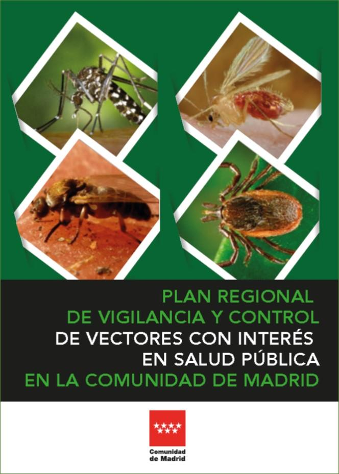 Imagen de la portada del Plan regional de vigilancia y control de vectores con interés en salud pública