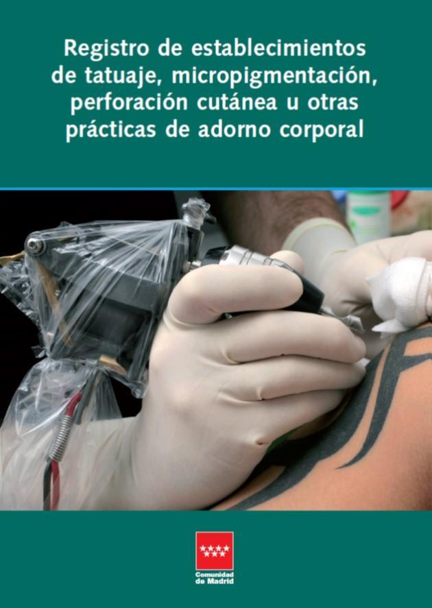Portada de Reg de establecimientos de tatuaje, pigmentación y perforación cutánea