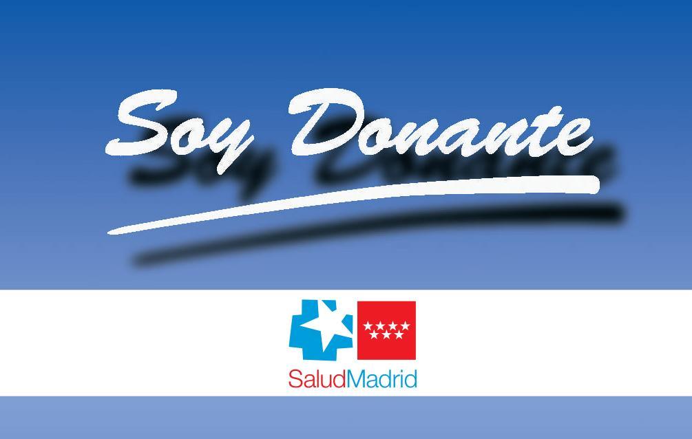 anverso de la tarjeta de donante de órganos
