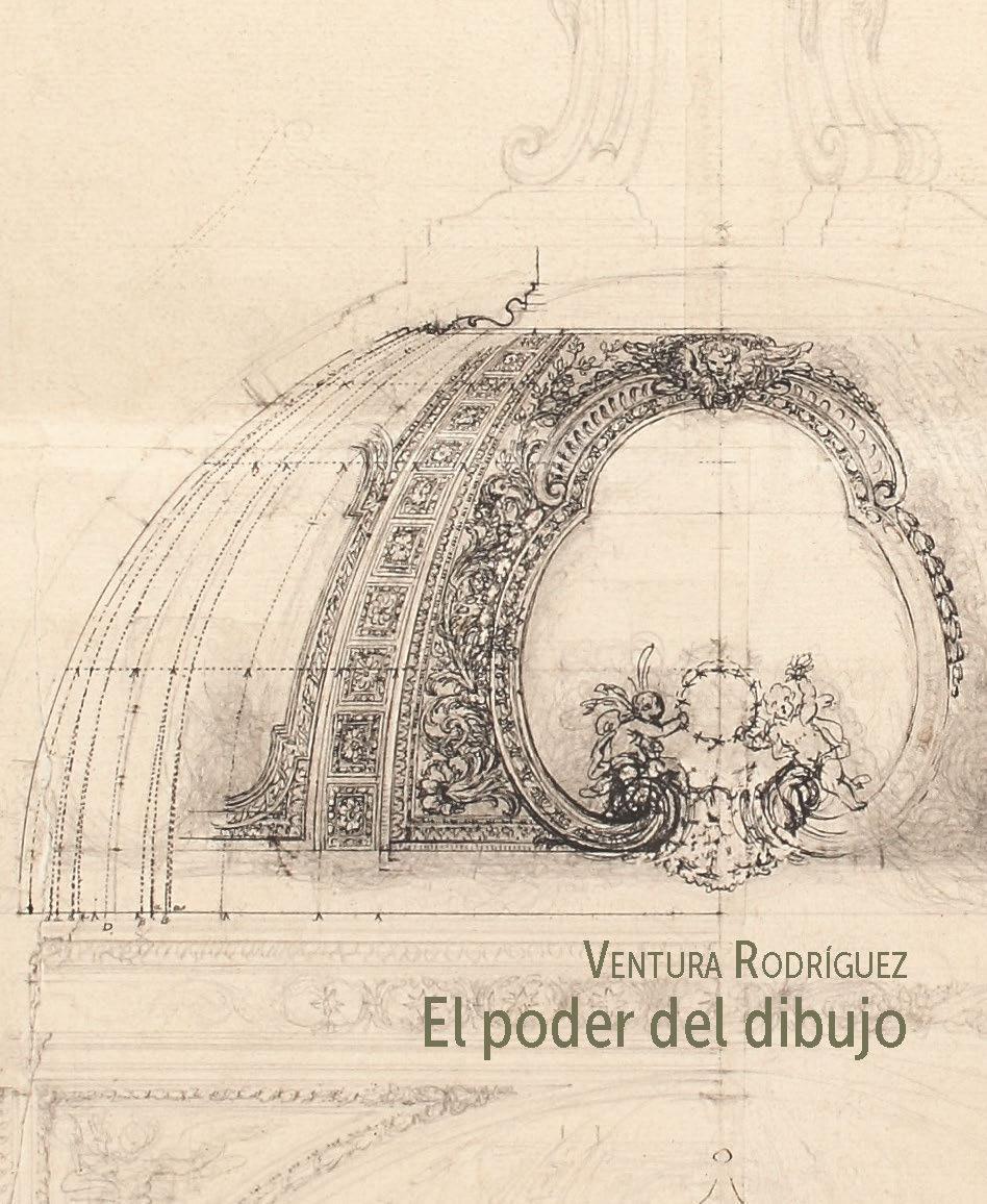 Portada del libro Ventura Rodriguez El Poder del dibujo