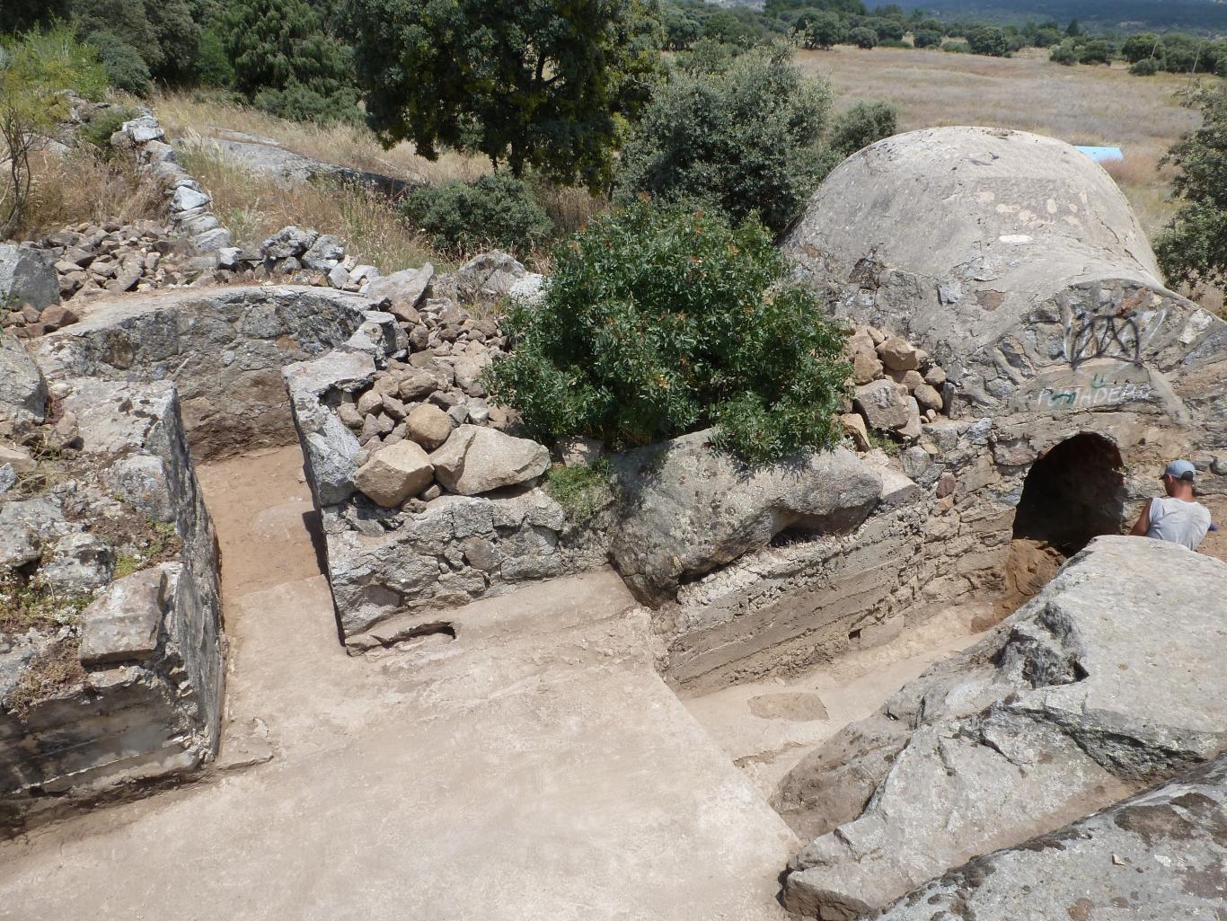 Imagen de la vista parcial de la posición Calvario