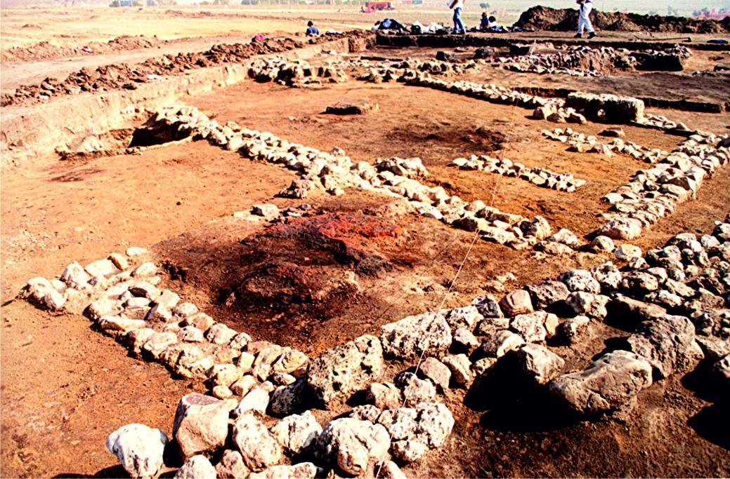 Imagen Estructuras domésticas del poblado carpetano