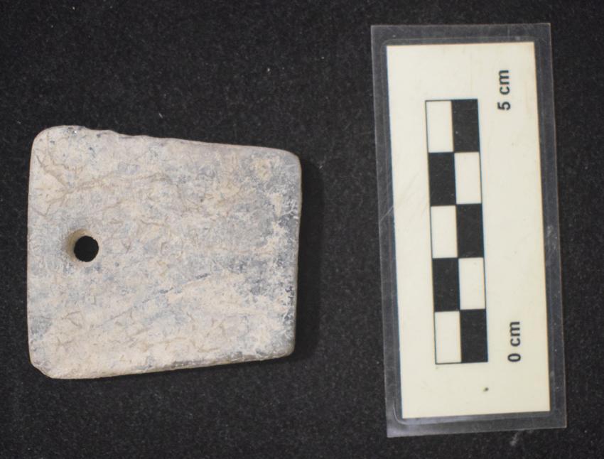 Imagen de Fragmento de brazalete de arquero del periodo Calcolítico en Yacimiento El Colegio en Valdemoro