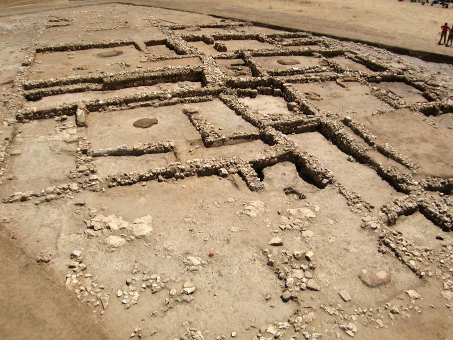 Imagen Vestigios de las viviendas del asentamiento del Llano de la Horca