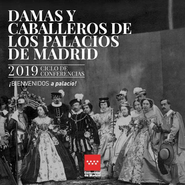 Damas y Caballeros de los palacios de Madrid, portada