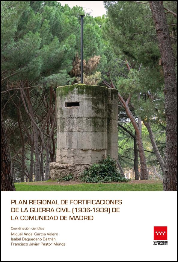 Imagen de la Portada del libro del Plan Regional de la Guerra Civil de la Comunidad de Madrid
