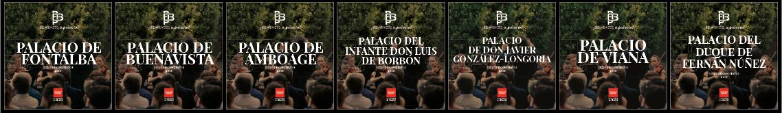 imagen de las portadas de los conciertos Bienvenidos a Palacio 2018