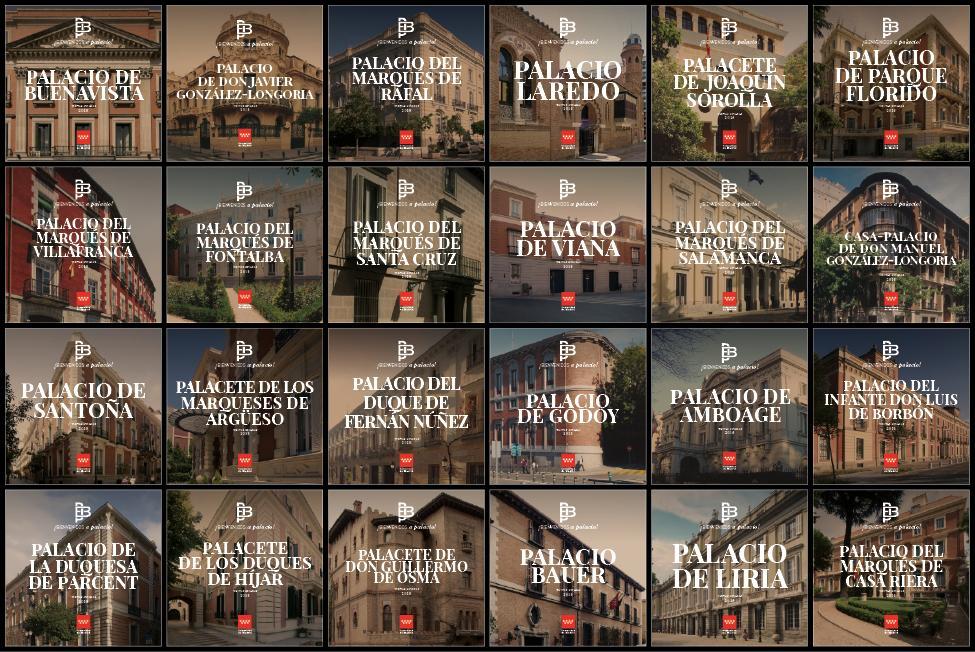 Imagen de todas las portadas de los Conciertos de 2018