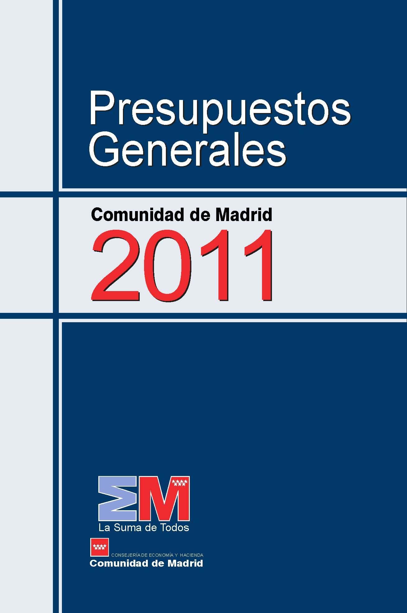 Folleto de Presupuestos 2011