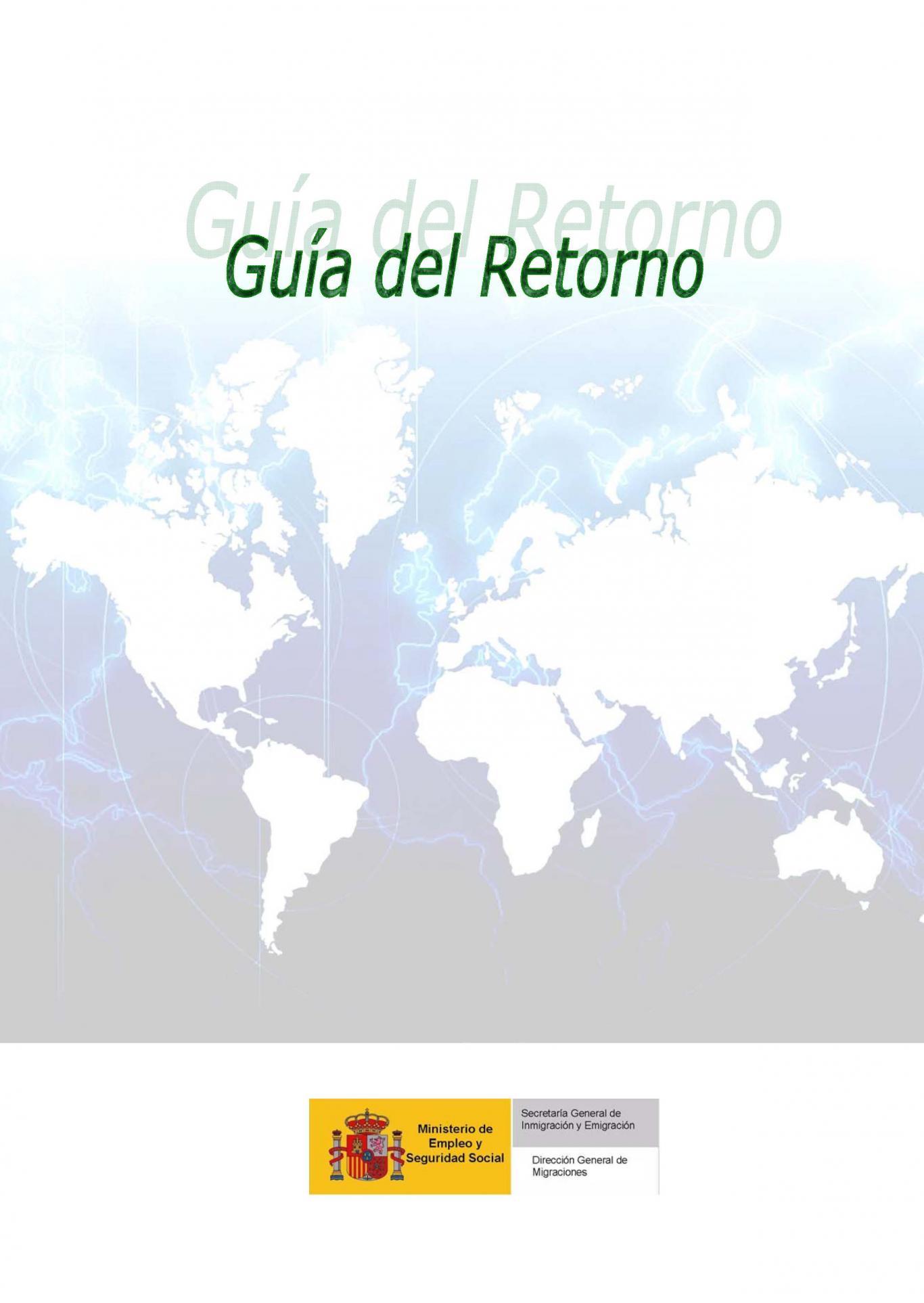 Guía para el retorno del Ministerio de Empleo y Seguridad Social