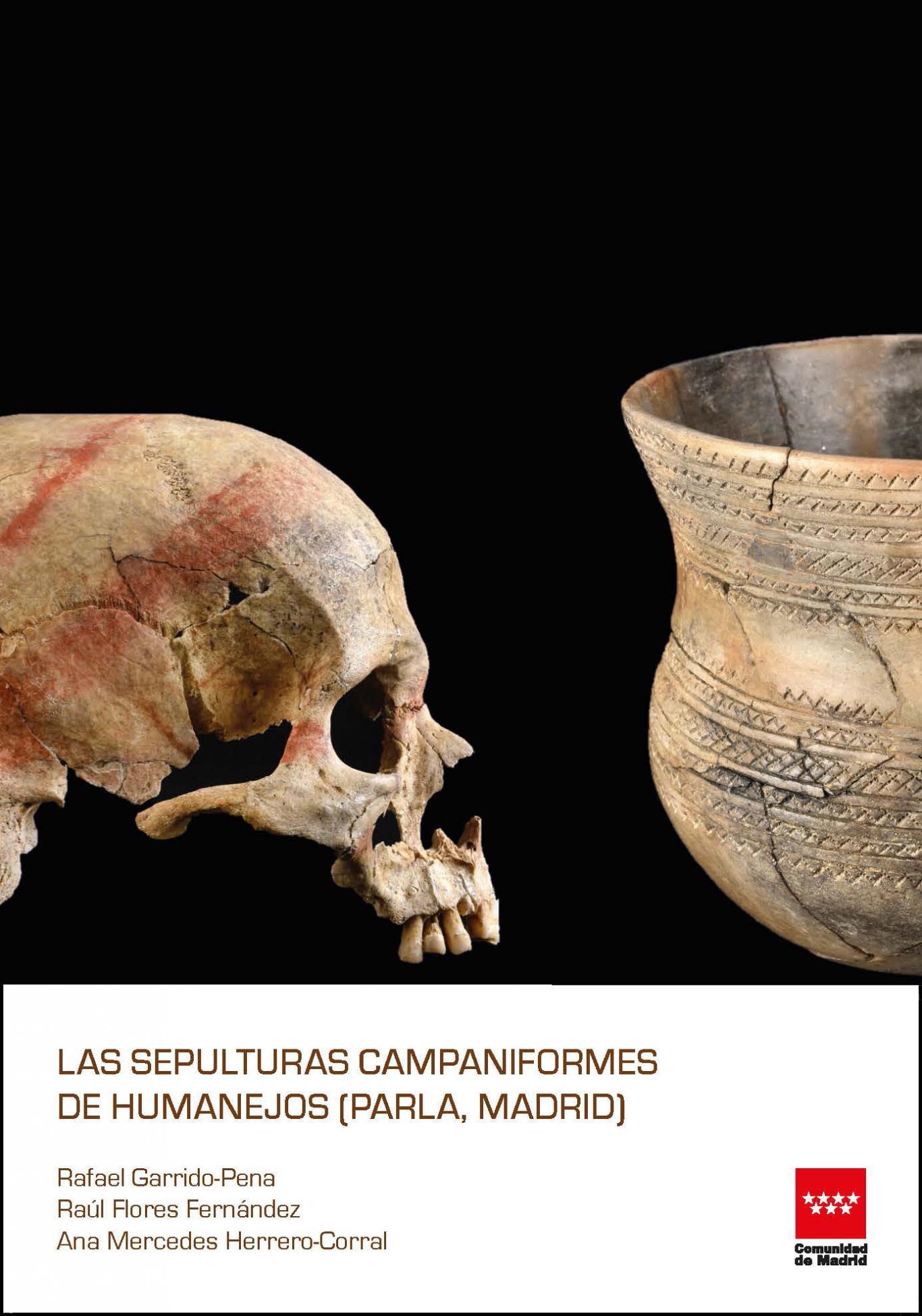 Imagen de la portada del libro Las sepulturas campaniformes de Humanejos (Parla, Madrid)
