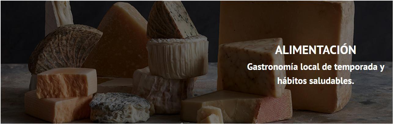 Imagen de un conjunto de quesos