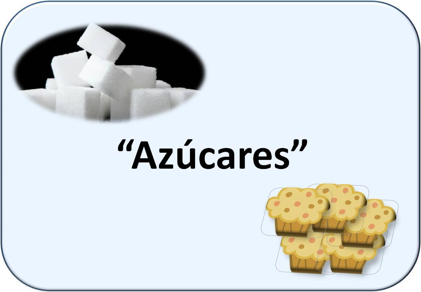 Simbología de azúcares: terrones de azúcar y magdalenas